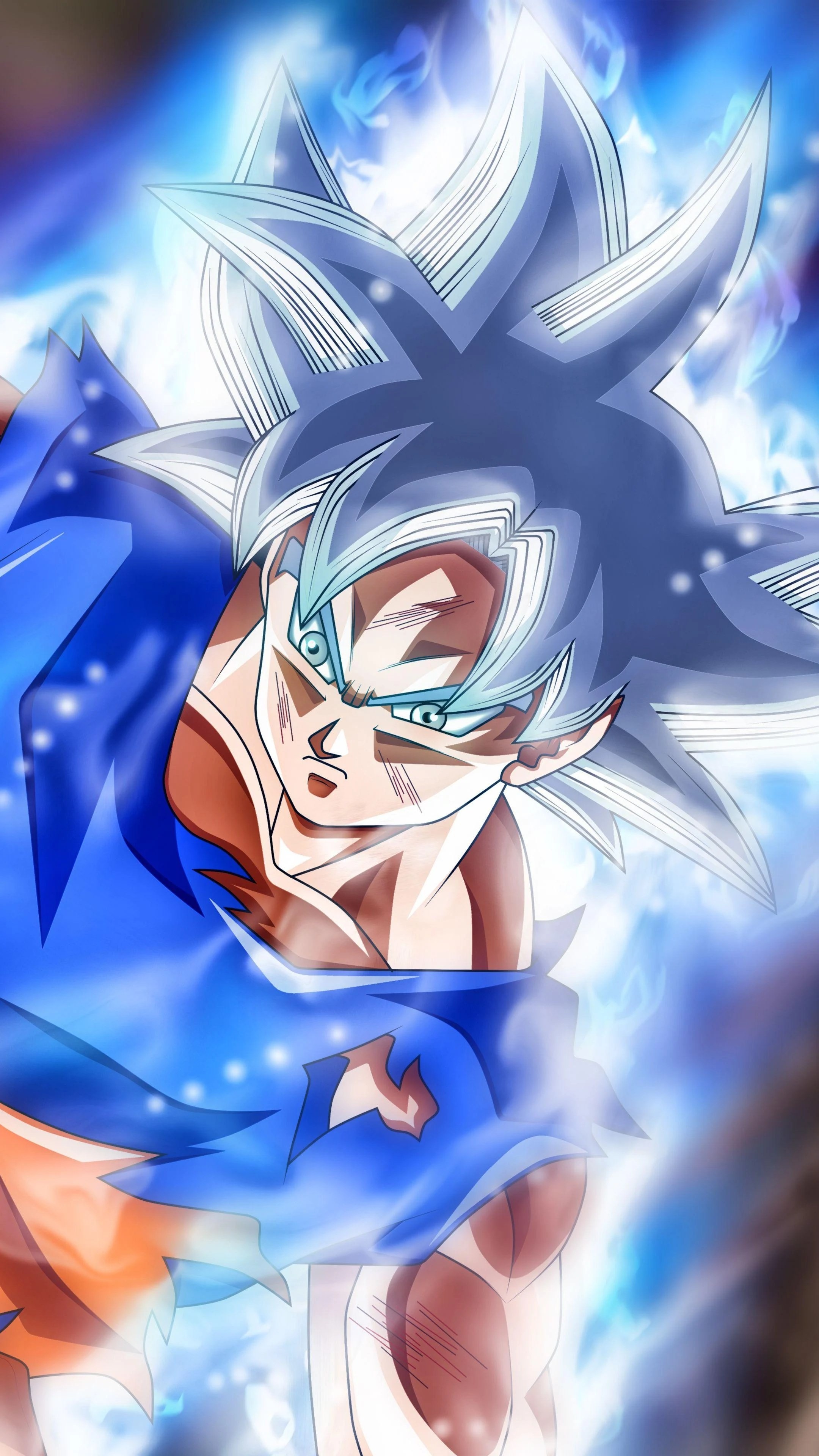 Super Saiyan Live Wallpaper Iphone X Goku Master Ultra Instinct Wallpapers Wallpaper Cave