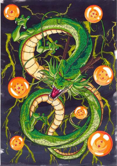 Super Shenron Wallpapers - Wallpaper Cave