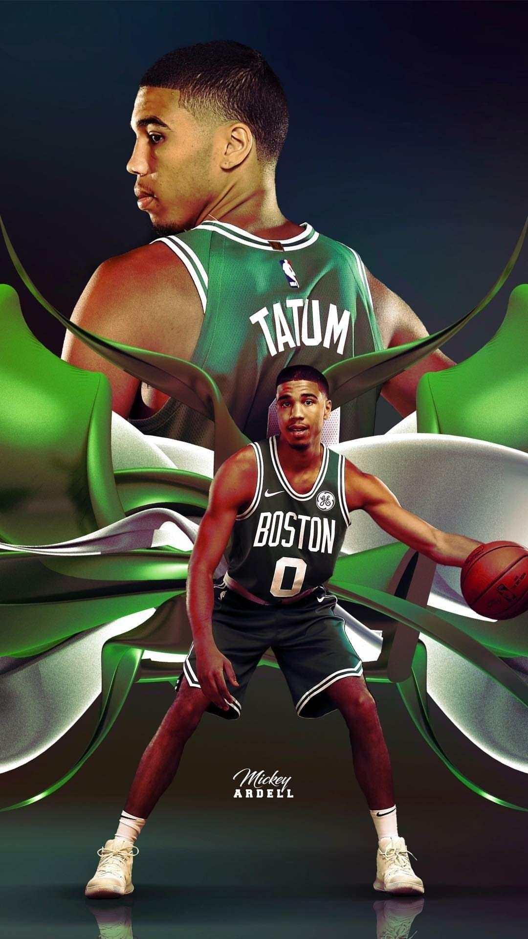 Kyrie Irving Wallpaper Iphone Jayson Tatum Wallpapers Wallpaper Cave
