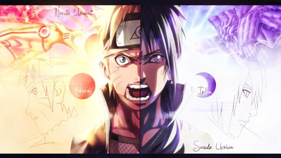 Wallpaper : illustration, anime, cartoon, Naruto Shippuuden, Uzumaki .