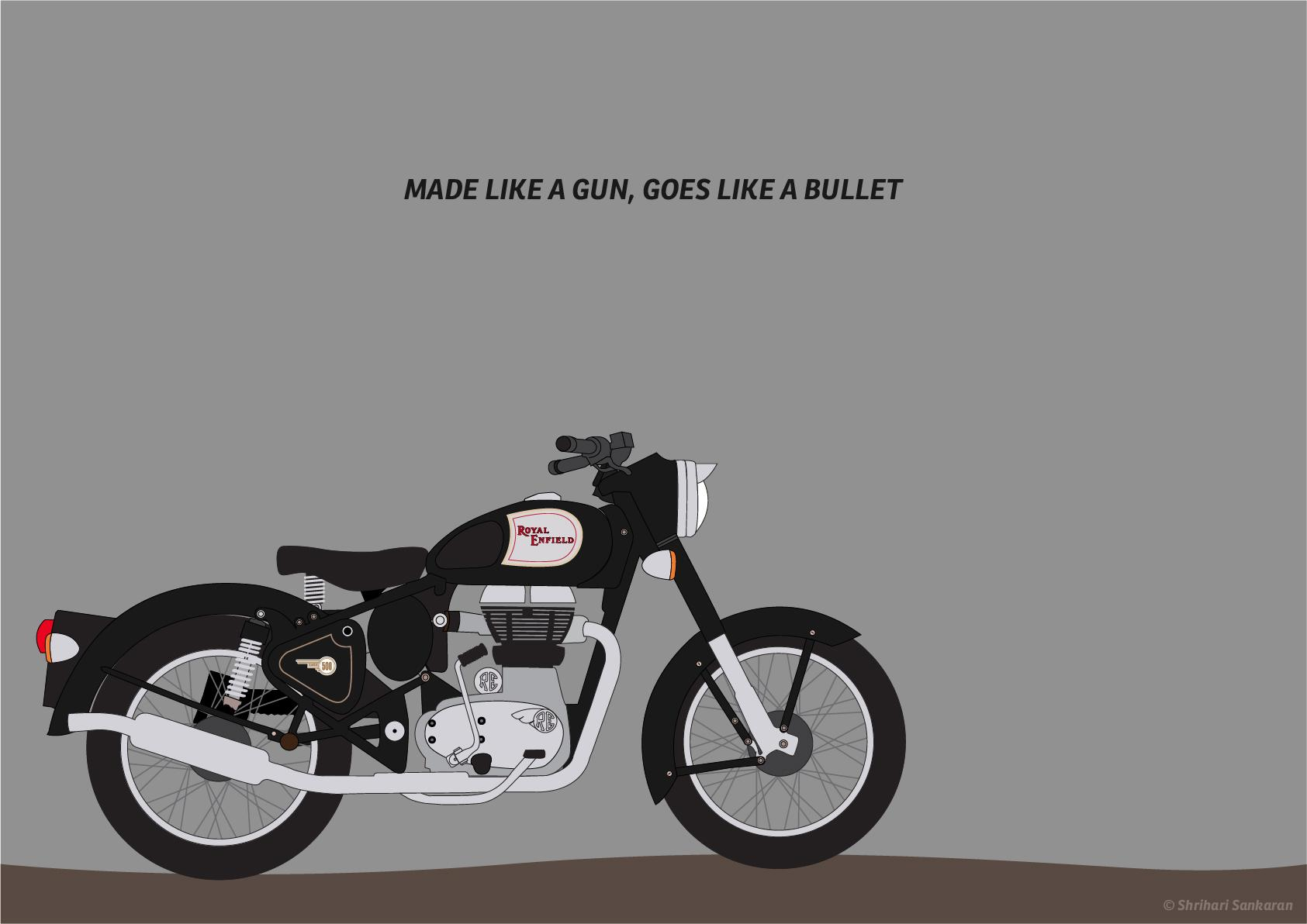 Royal Enfield Cafe Racer Hd Wallpaper Royal Enfield Black Wallpapers Wallpaper Cave
