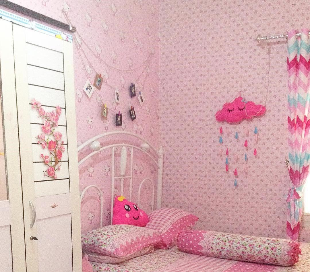 Walpaper Dinding Rumah Wallpapers Pink Lucu Wallpaper Cave