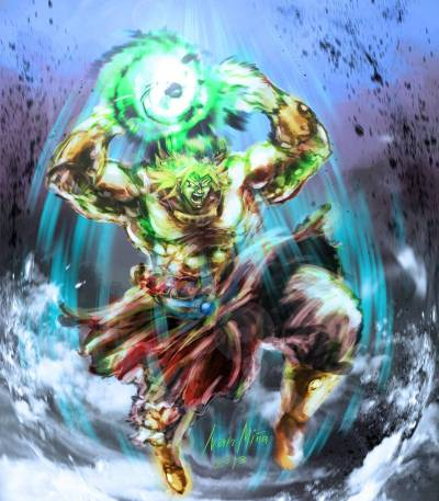 Broly Legendary Super Saiyan Wallpapers HD - Wallpaper Cave