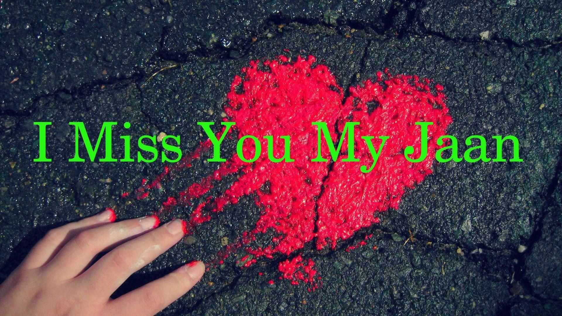 Punjabi Romantic Quotes Wallpaper Pics Of I Miss You Jaan Simplexpict1st Org