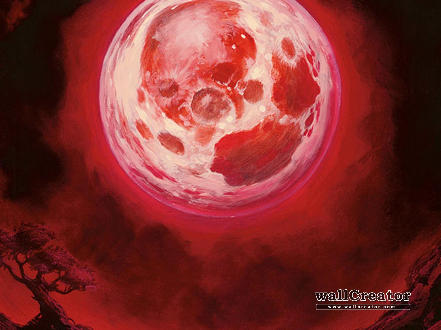 Mtg Wallpaper Blood Moon Mtg Wallpapers Wallpaper Cave