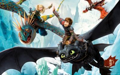 How To Train Your Dragon 3 Wallpapers - Wallpaper Cave