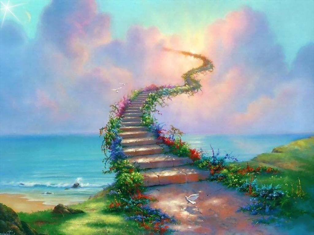 Wallpaper Heaven Stairway To Heaven Wallpapers Wallpaper Cave
