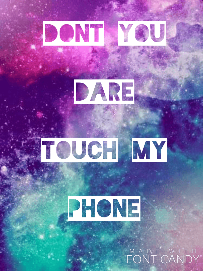 Don T Touch My Phone Wallpaper Cute Don T Touch My Computer Wallpapers Wallpaper Cave