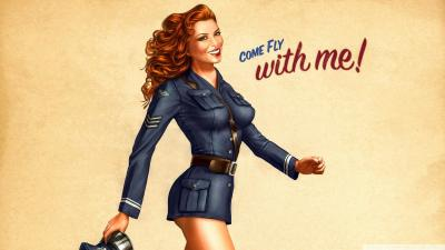 Vintage Pin Up Wallpapers - Wallpaper Cave