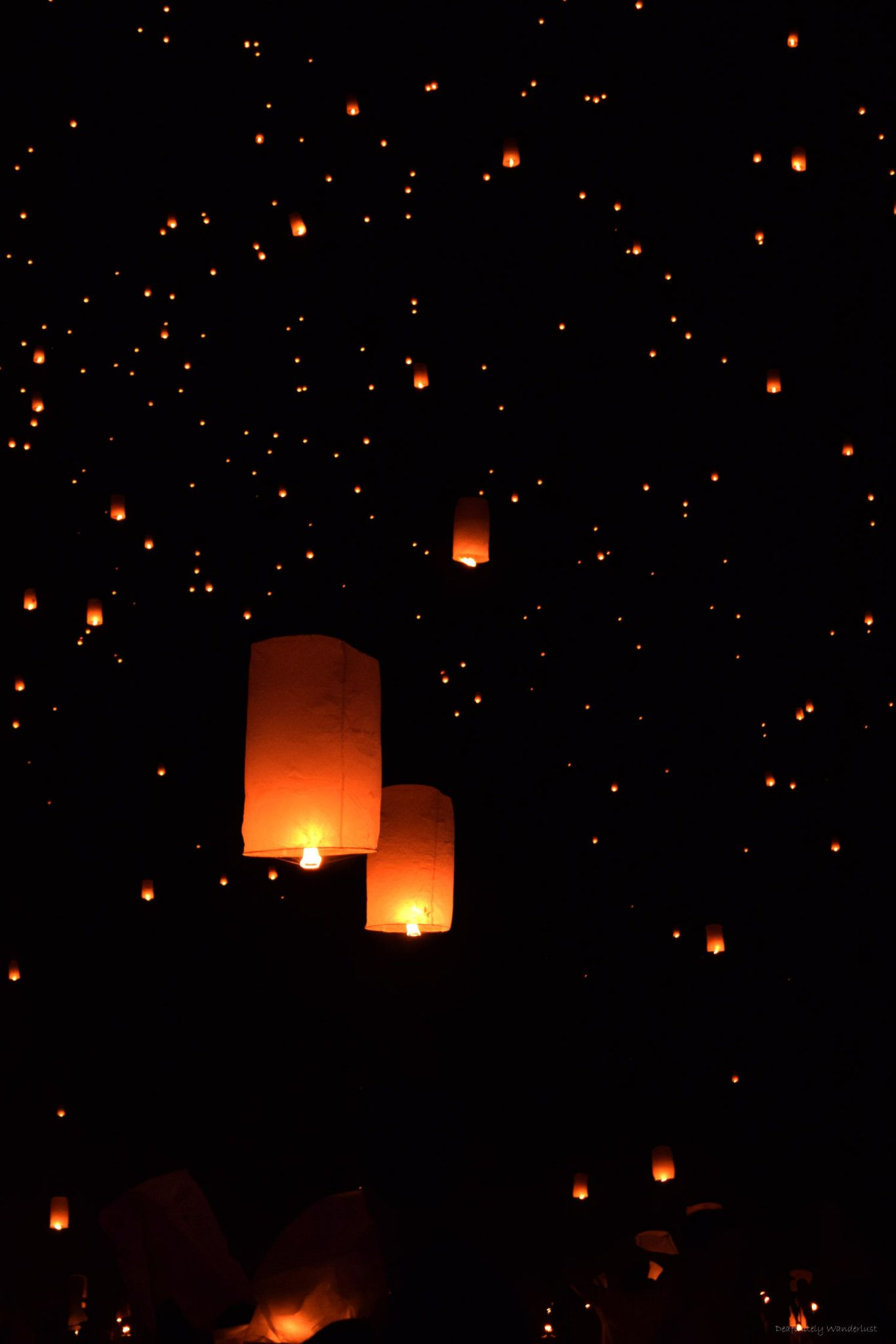 Sky Lantern Wallpapers Wallpaper Cave