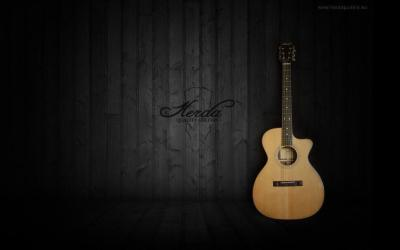 Acoustic Guitar Wallpapers - Wallpaper Cave