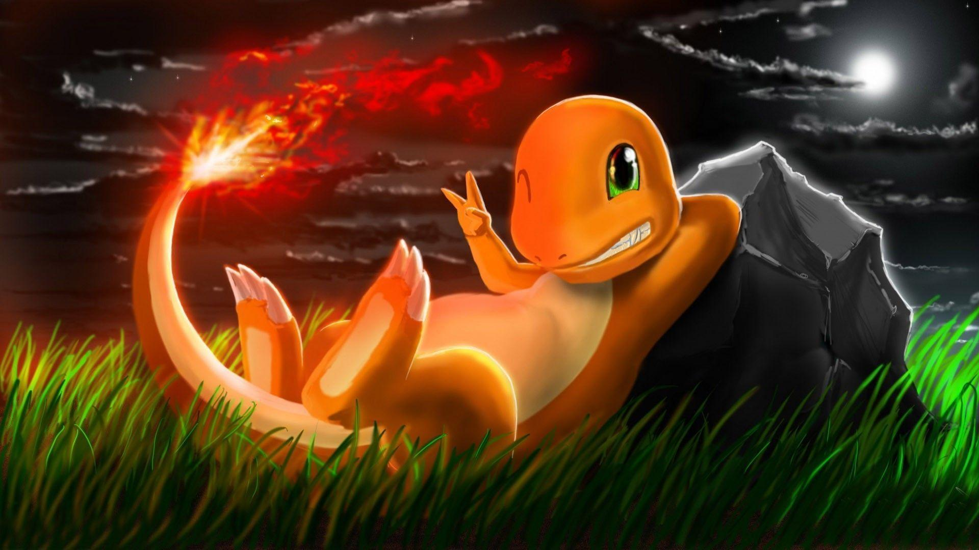 Cute Halloween Wallpapers For Android Charmander Backgrounds Wallpaper Cave
