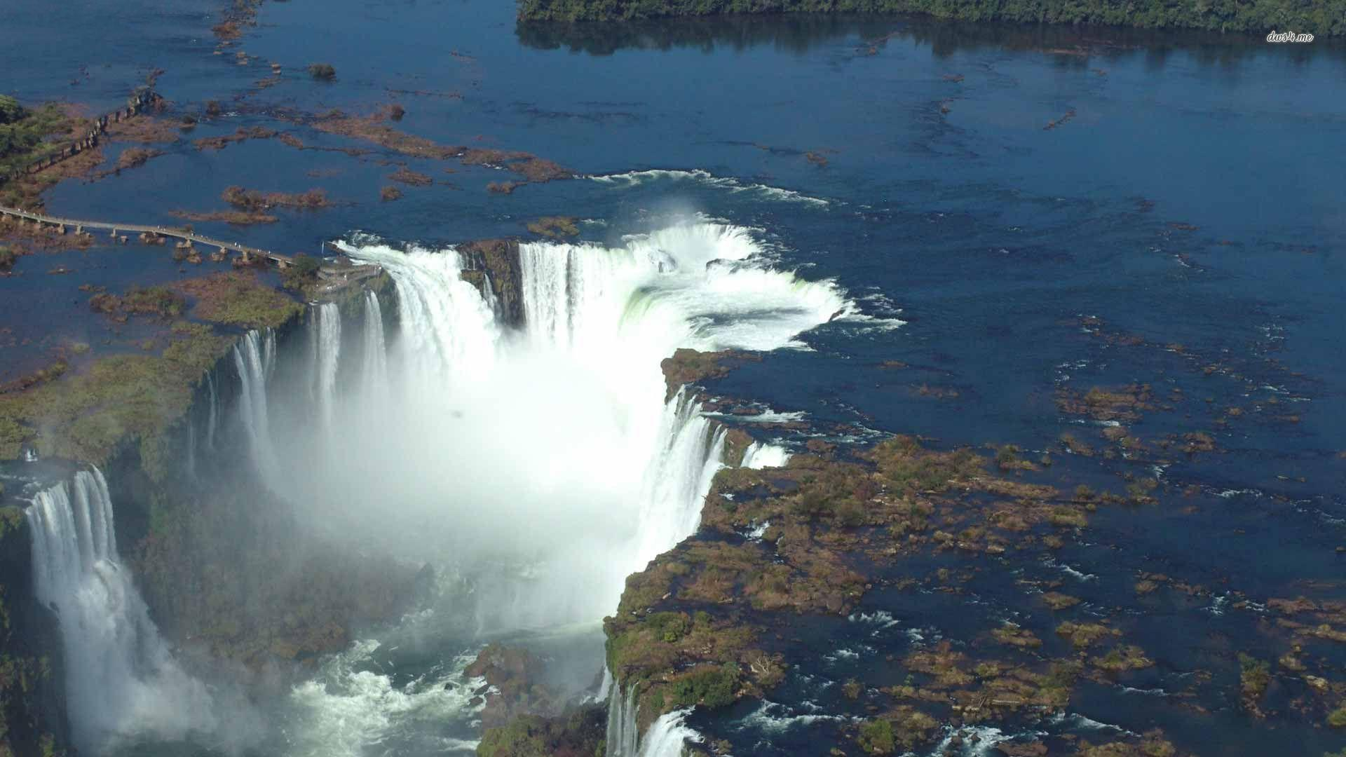 Niagara Falls Hd Wallpaper For Desktop Iguazu Falls Wallpapers Wallpaper Cave