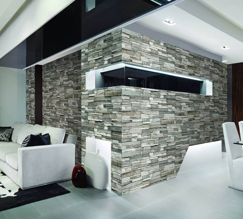 3d Silk Effect Wallpaper Nine Six Design Sdn Bhd Stone Touch