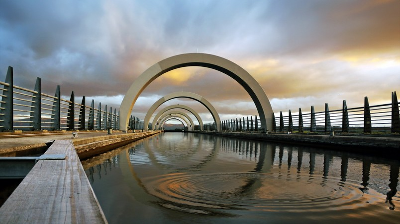 Animated 3d Wallpapers Free Download Pc The Falkirk Wheel Hd Wallpaper Wallpaperfx