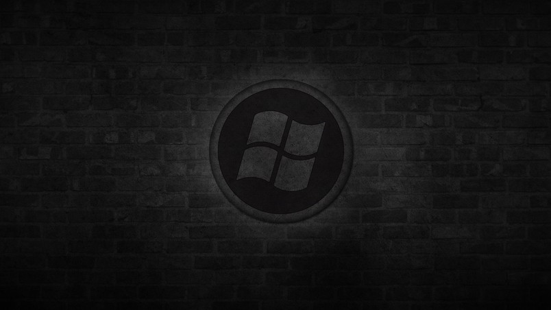 How To Create Animated Wallpaper For Android Dark Windows Logo Hd Wallpaper Wallpaperfx