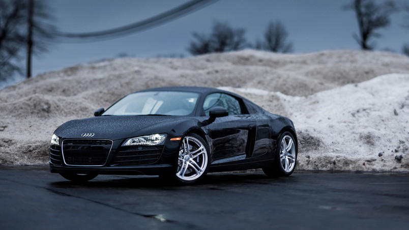 Audi R8 Cars Wallpapers Hd Rainy Audi R8 Hd Wallpaper Wallpaperfx