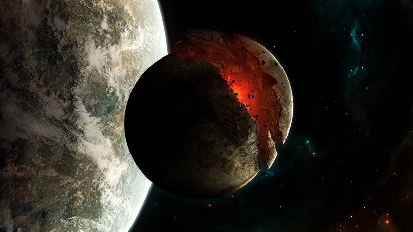 Cars Wallpapers 2014 Hd Download Planet Disaster In Space Hd Wallpaper Wallpaperfx
