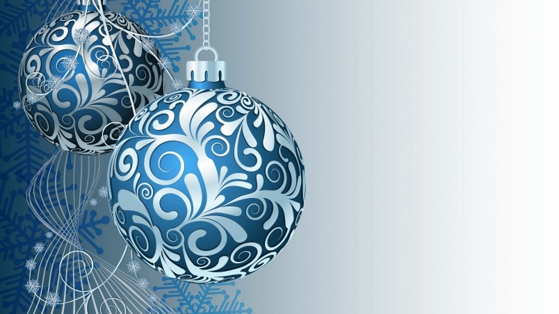 Animated Desktop Wallpaper Download Gorgeous Ornaments For Christmas Hd Wallpaper Wallpaperfx