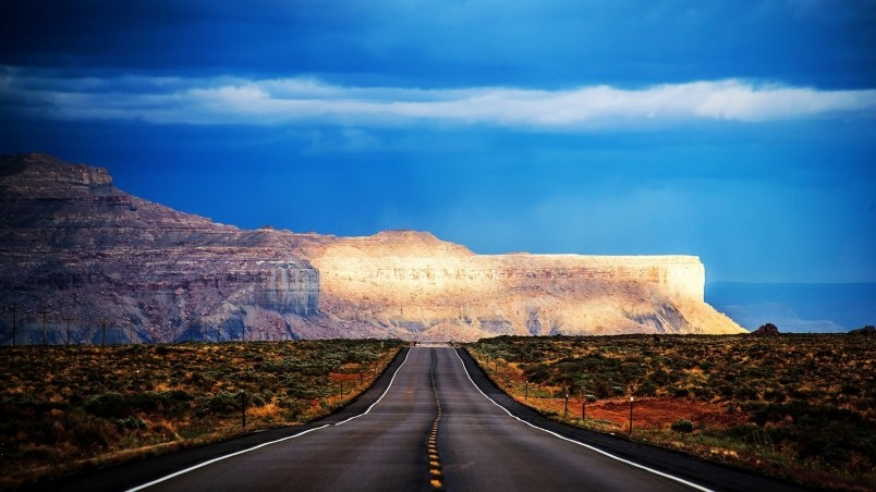 3d Cool Wallpapers Free Download Arizona Road Hdr Hd Wallpaper Wallpaperfx
