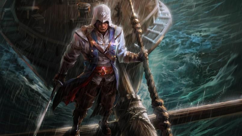 Naruto Wallpaper Iphone 4 Assassins Creed Fan Art Hd Wallpaper Wallpaperfx
