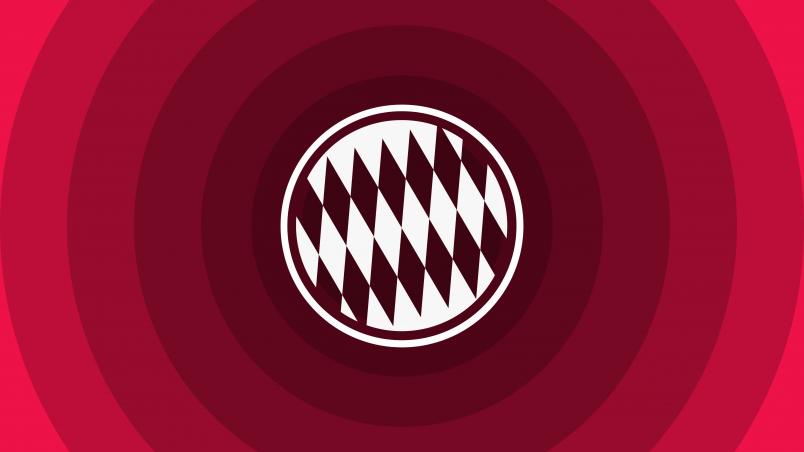 Adidas Logo 3d Wallpapers Hd Fc Bayern Munich Minimal Logo Hd Wallpaper Wallpaperfx