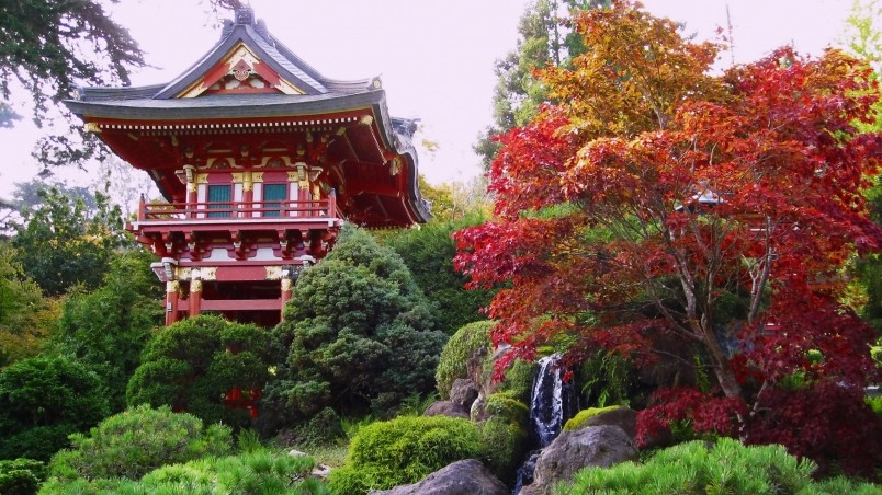 Animated Wallpapers For Pc Desktop Free Download Chinese Garden Hd Wallpaper Wallpaperfx