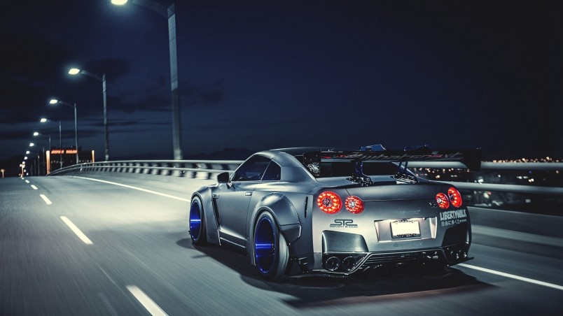 320x480 Animated Wallpapers Nissan Gtr Liberty Walk Hd Wallpaper Wallpaperfx