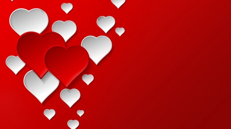 Animated Flowers Wallpapers Free Download Digital Hearts Hd Wallpaper Wallpaperfx