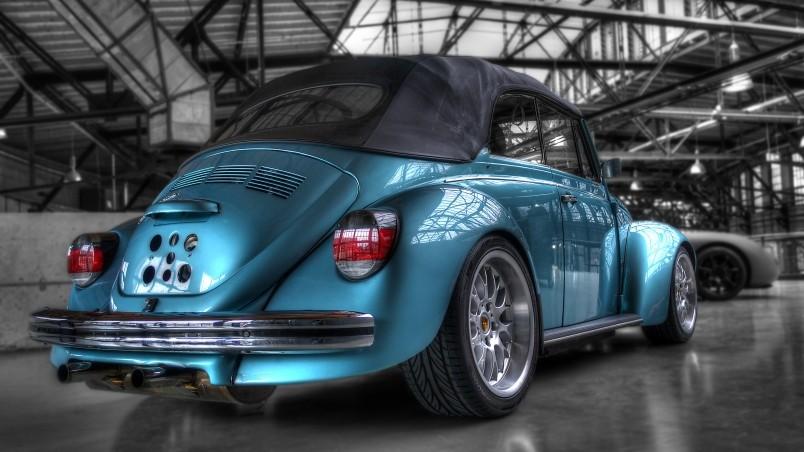 Car Hdr Wallpaper Volkswagen Super Beetle Hd Wallpaper Wallpaperfx