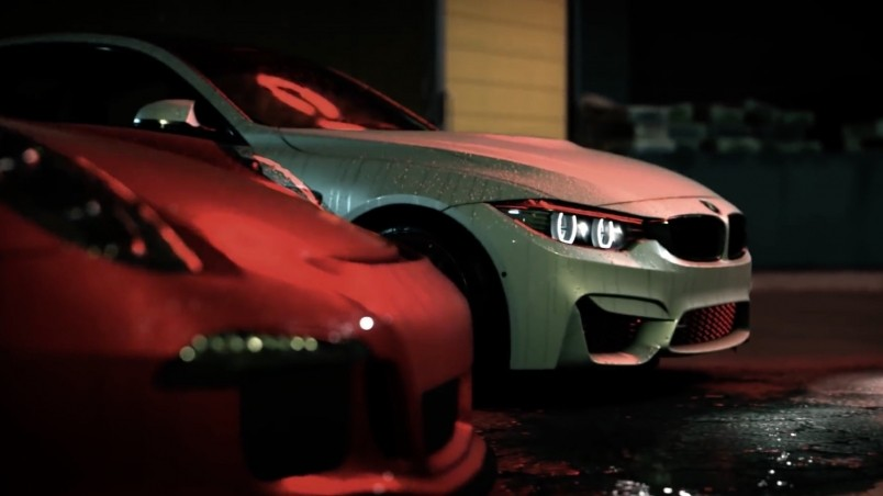 Hd Wallpapers 1080p Nature Animated Need For Speed Bmw And Porsche Hd Wallpaper Wallpaperfx