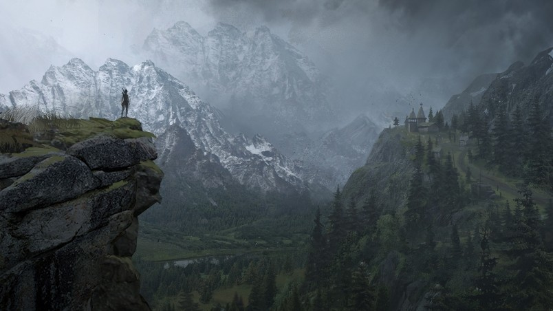 3d Action Wallpaper Download Rise Of The Tomb Raider Landscape Hd Wallpaper Wallpaperfx