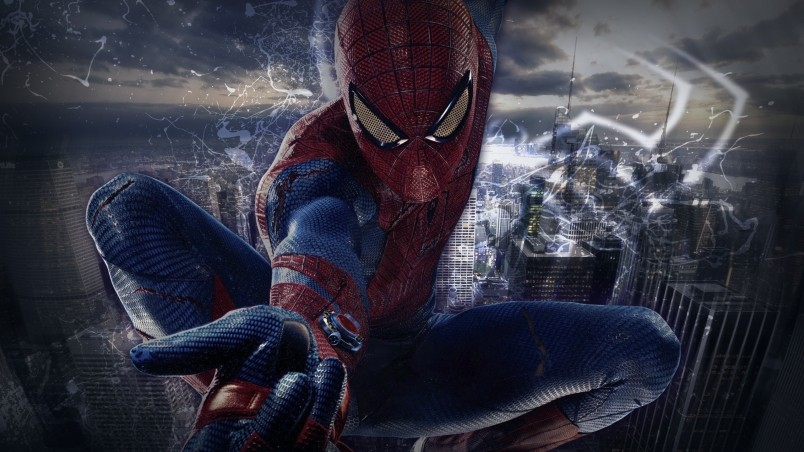 Rog Animated Wallpaper Spiderman Pose Hd Wallpaper Wallpaperfx