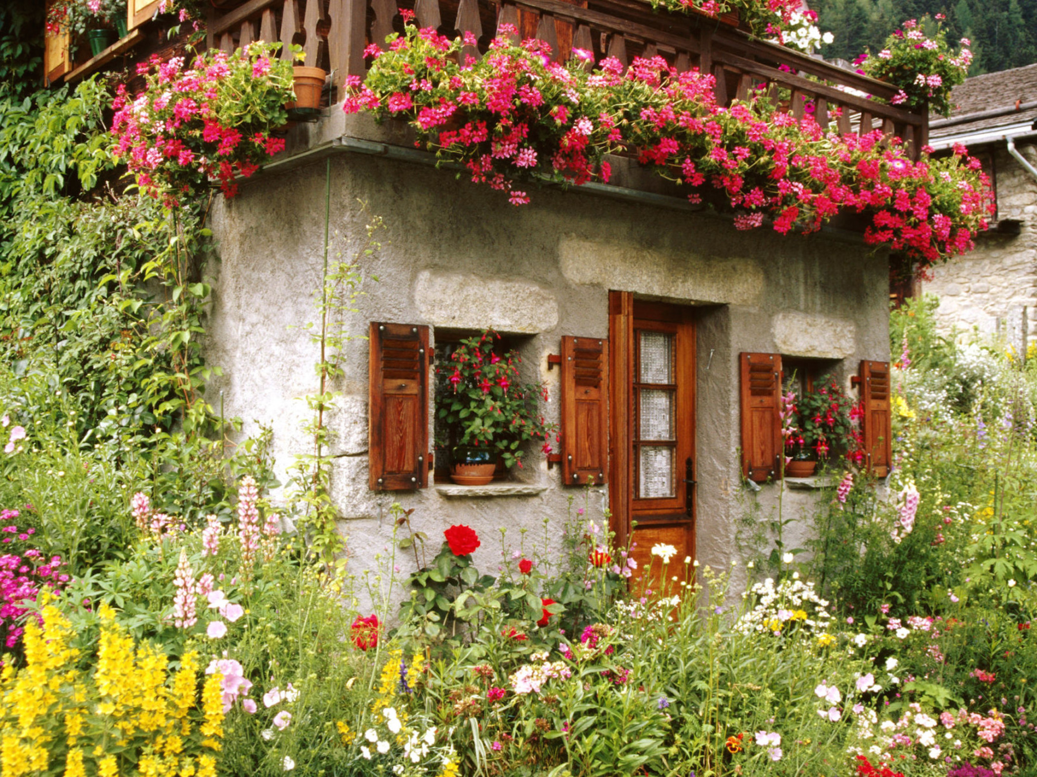 Englische Cottages Lovely English Cottage Garden Wallpaper Free Downloads