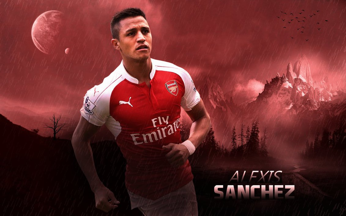 Arsenal Wallpaper 3d Alexis Sanchez Wallpapers