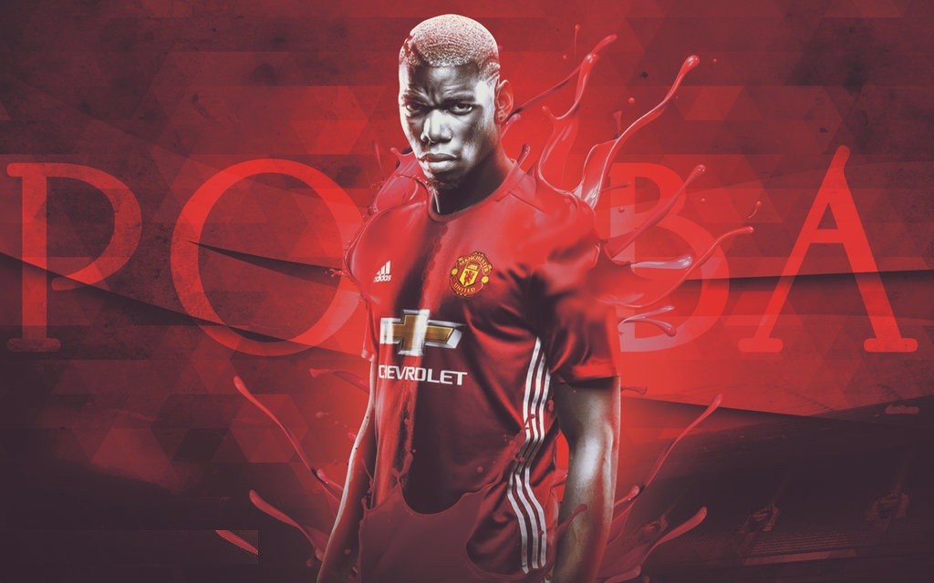 Manchester United Animated Wallpapers Paul Pogba Wallpapers