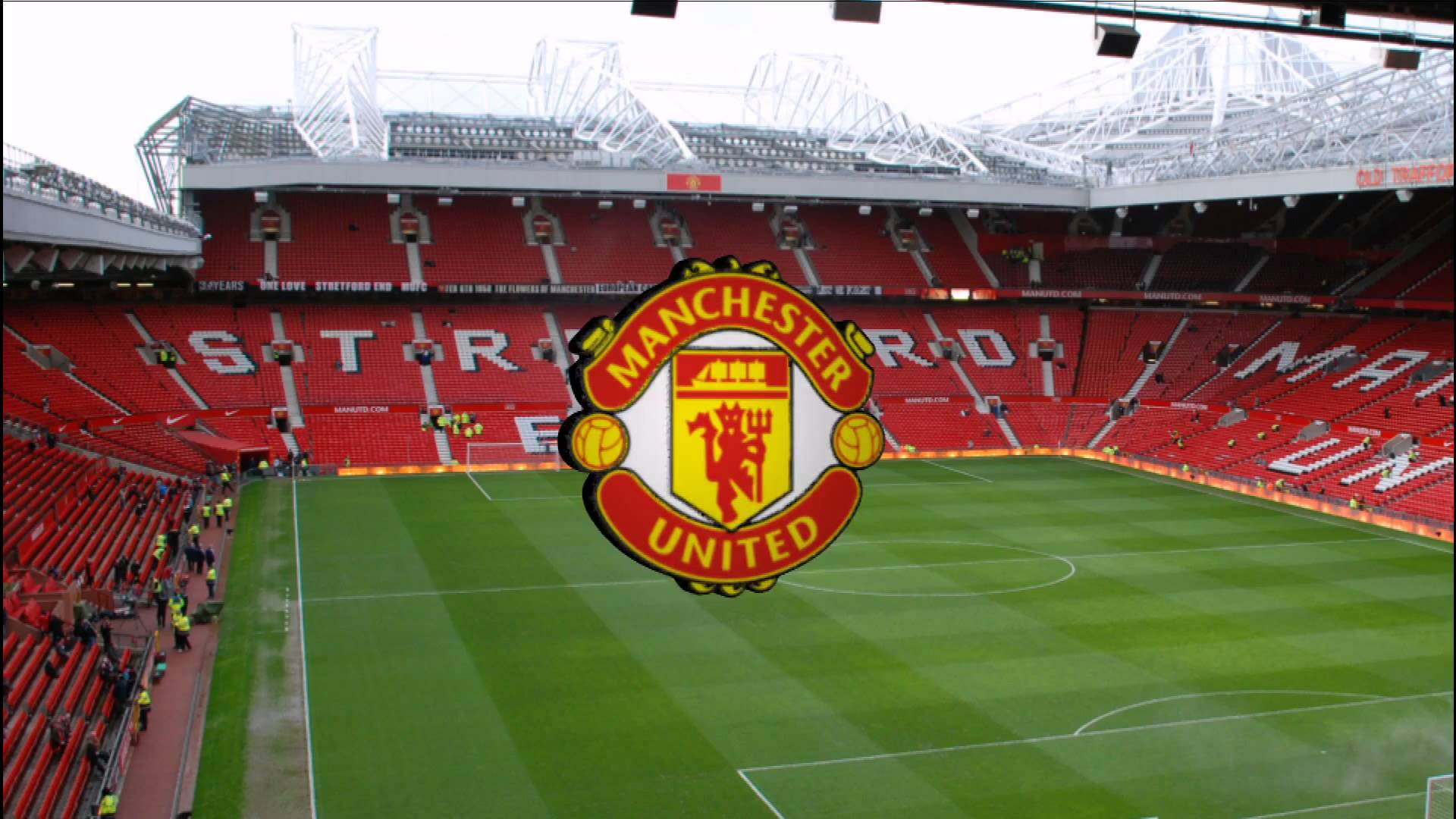 Manchester United Logo Wallpaper 3d Manchester United Soccer Wallpapers
