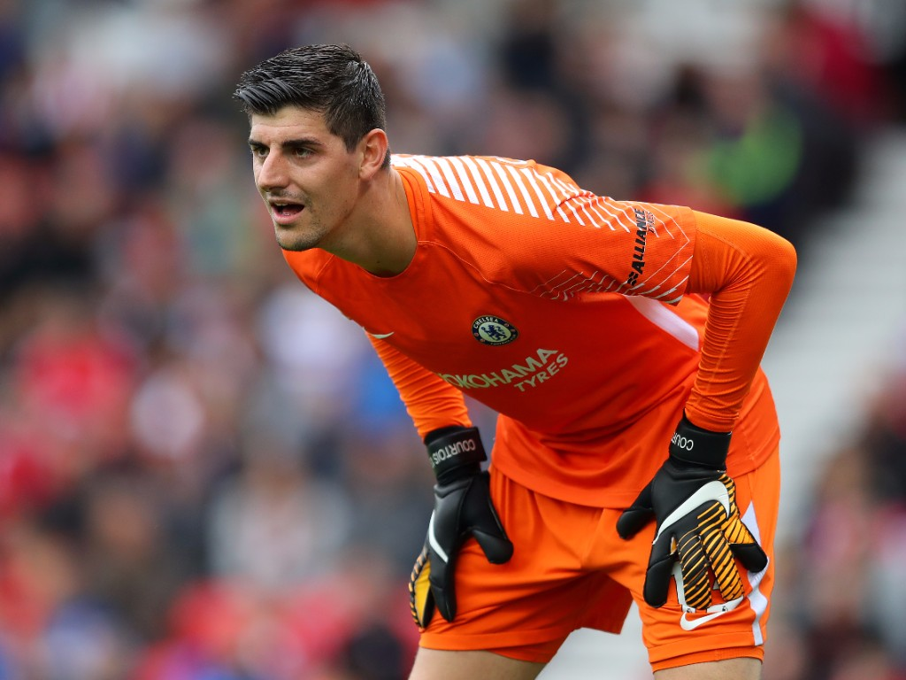 Lg Mobile 3d Wallpaper Thibaut Courtois Wallpaper