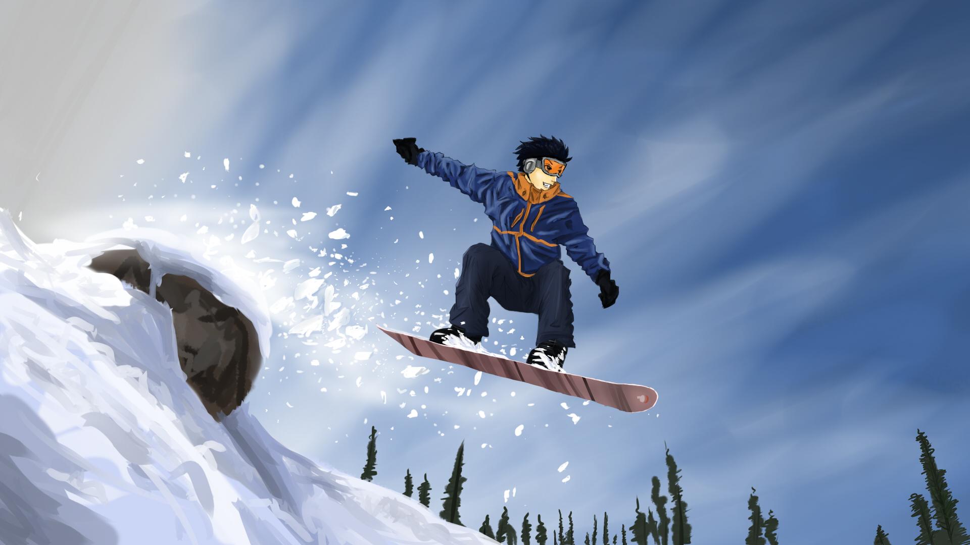 Free Animated Fall Desktop Wallpaper Winter Sports Wallpapers