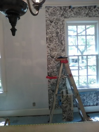 Keeping Wallpaper Lined Up Around a Window | Wallpaperlady's Blog
