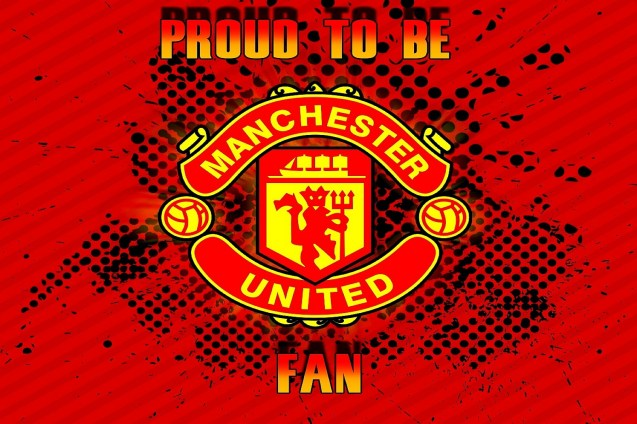 Hd Wallpapers Cartoon Girl Proud To Be Manchester United Fan Wallpaper