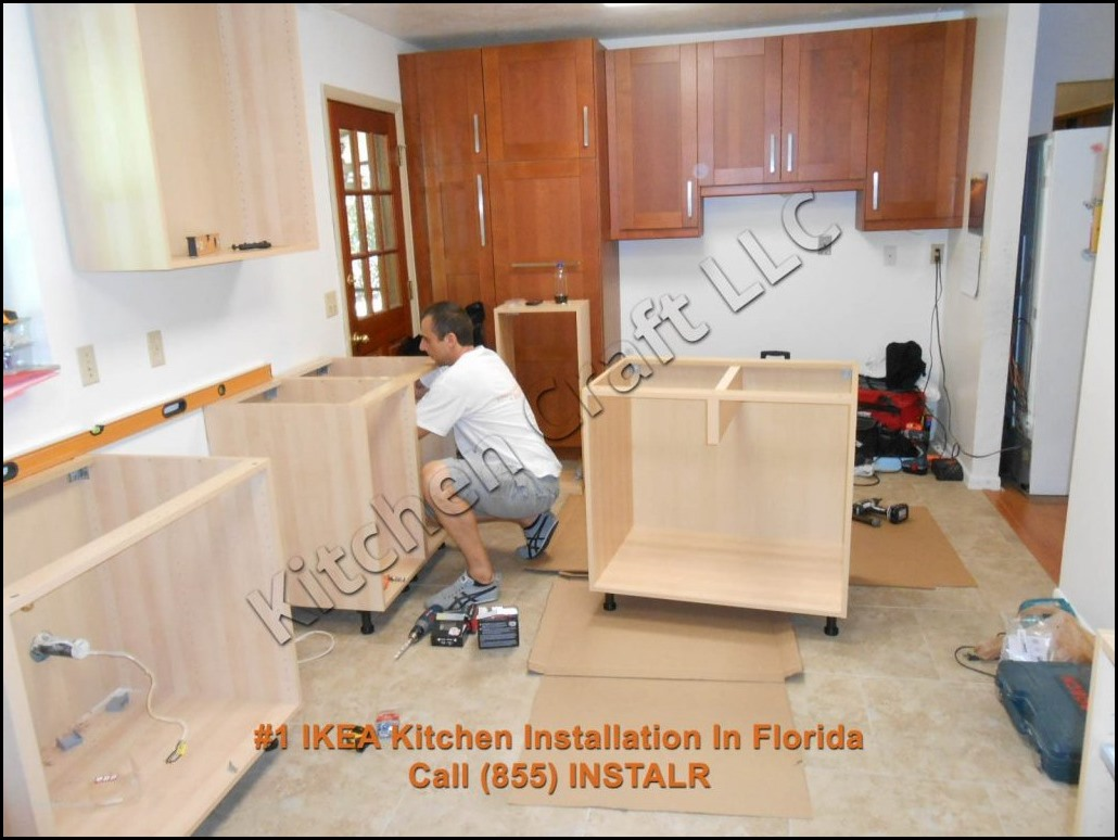 Kitchen Cabinet Installation Cost Installing Ikea Kitchen Cabinets Youtube Price To Set Up