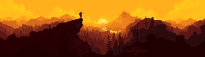 Dual monitor Firewatch wallpapers, HD backgrounds