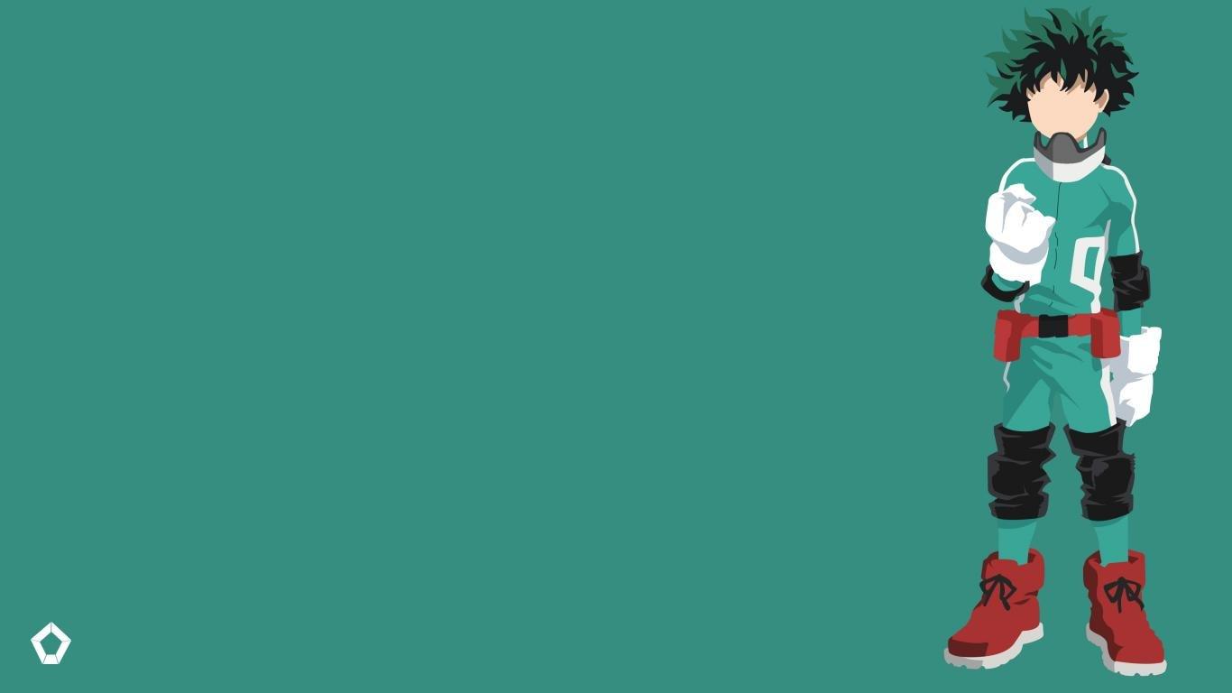 Animated Hd Wallpapers For Laptop Boku No Hero Academia Wallpapers 1366x768 Laptop Desktop