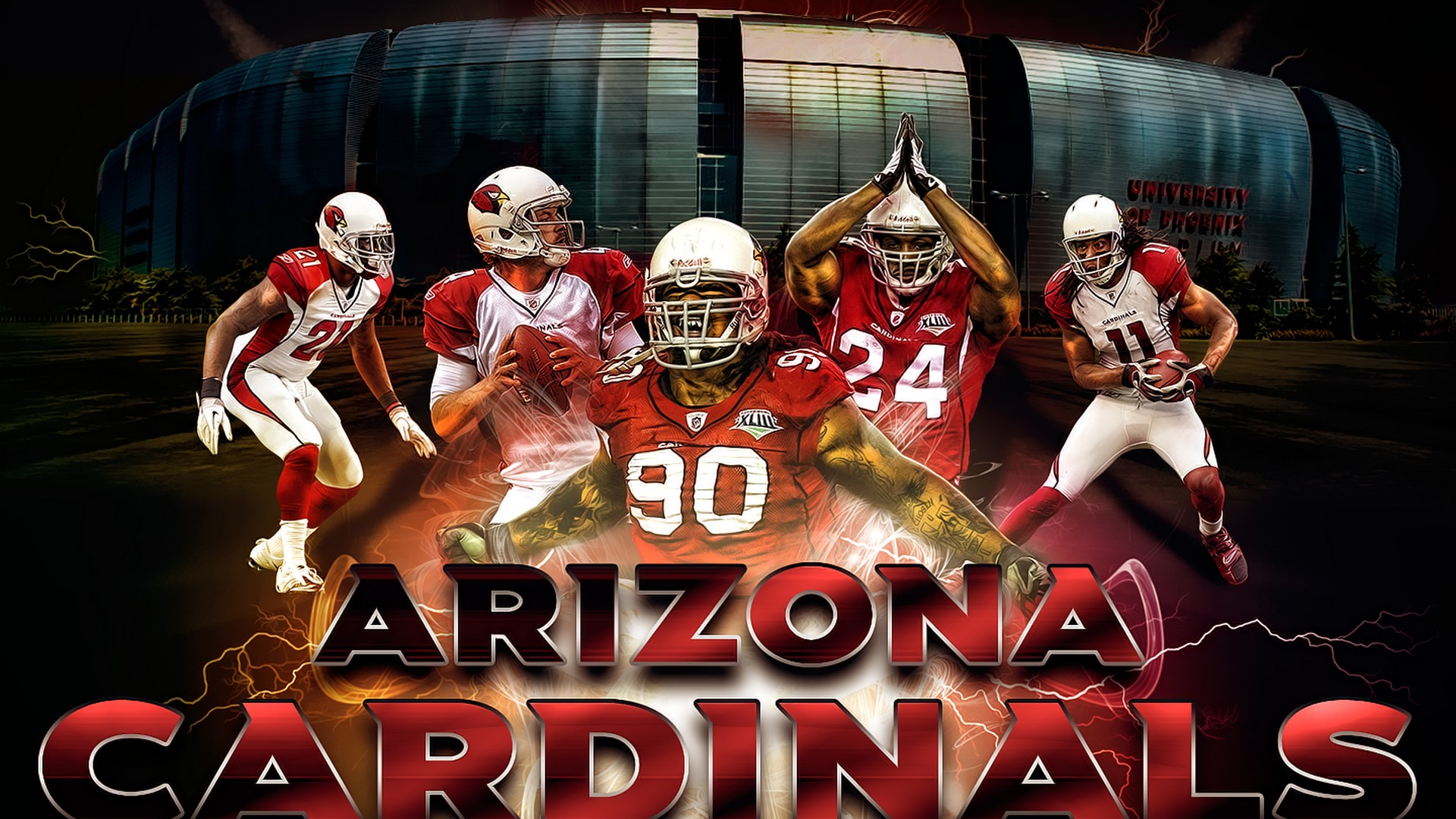 Football Hd Wallpapers For Iphone Arizona Cardinals For Desktop Wallpaper 2019 Nfl