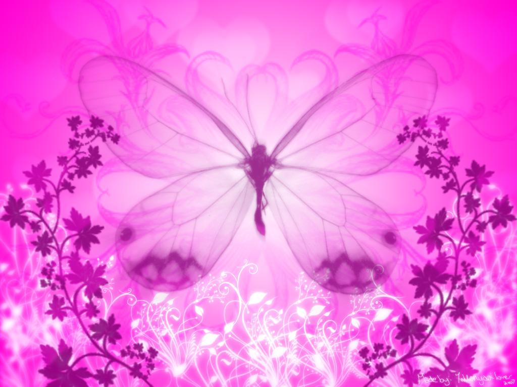 Alizee Wallpaper Hd Pink Butterfly Background Animal
