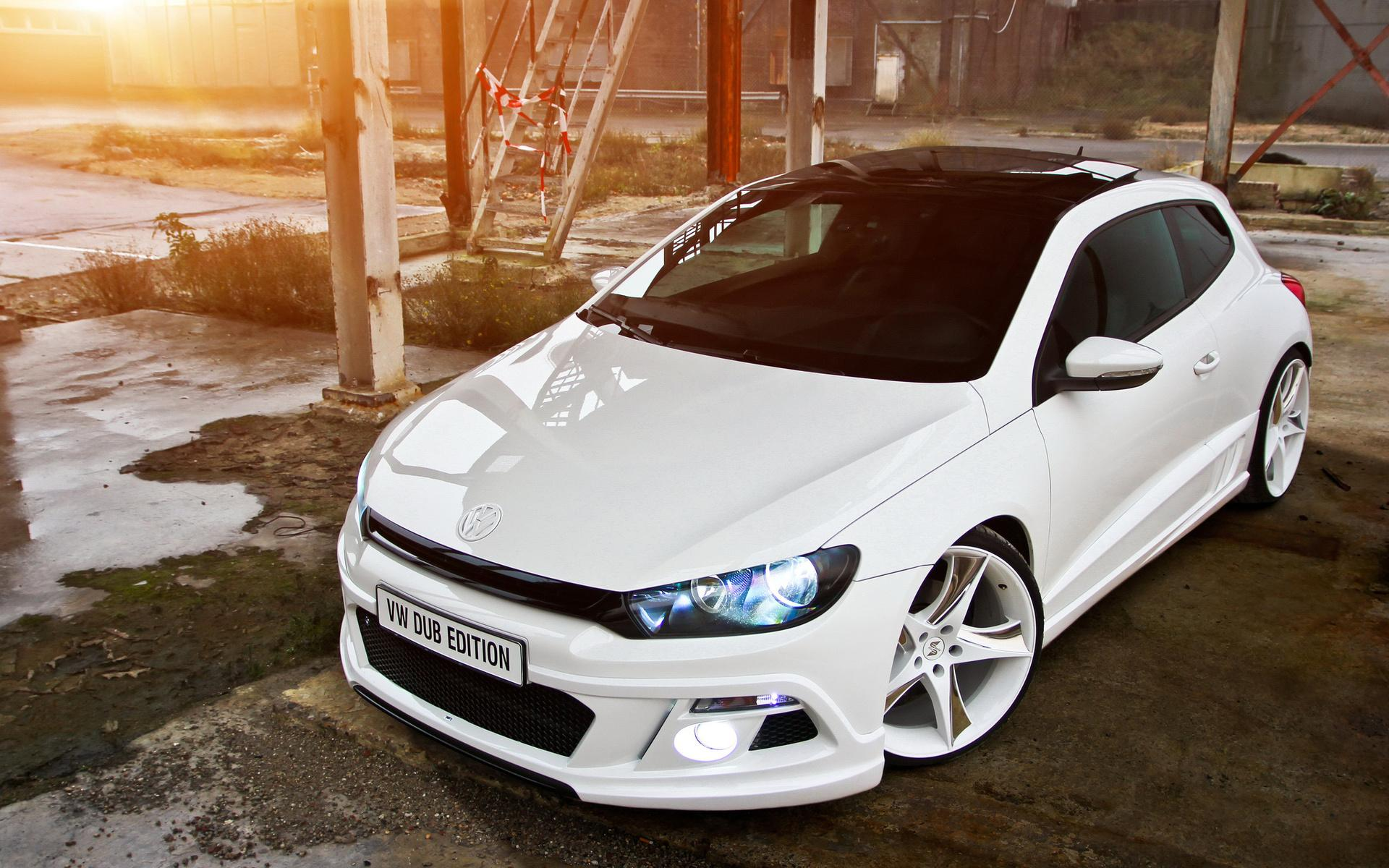 Large Size Wallpapers Of Cars Volkswagen Scirocco Dub Edition Cars