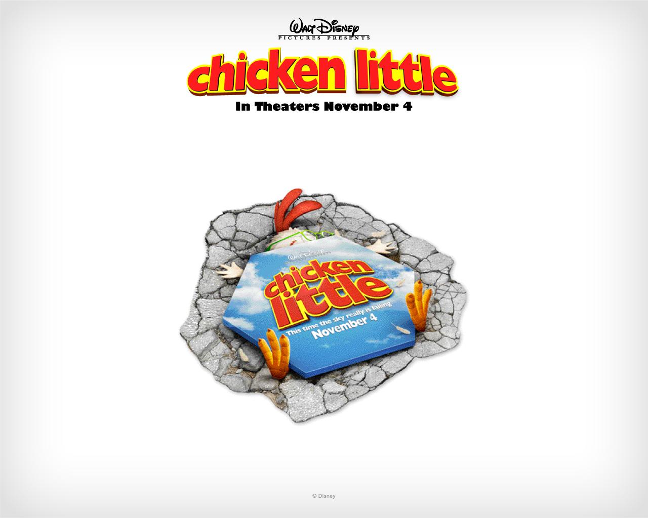 Cute Baby Girl Wallpaper Full Hd Little Chicken Poster Movie
