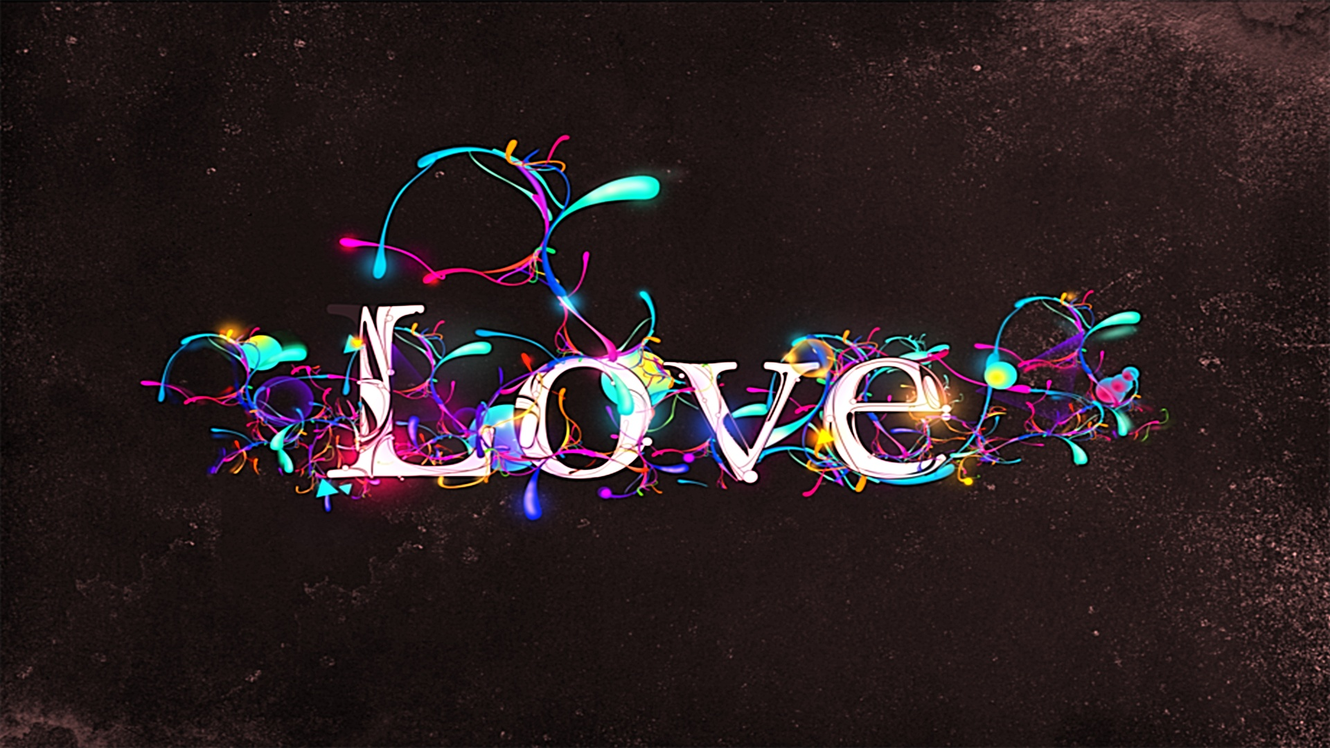 Tuxedo Wallpaper Hd Paint Drops On Love Abstract