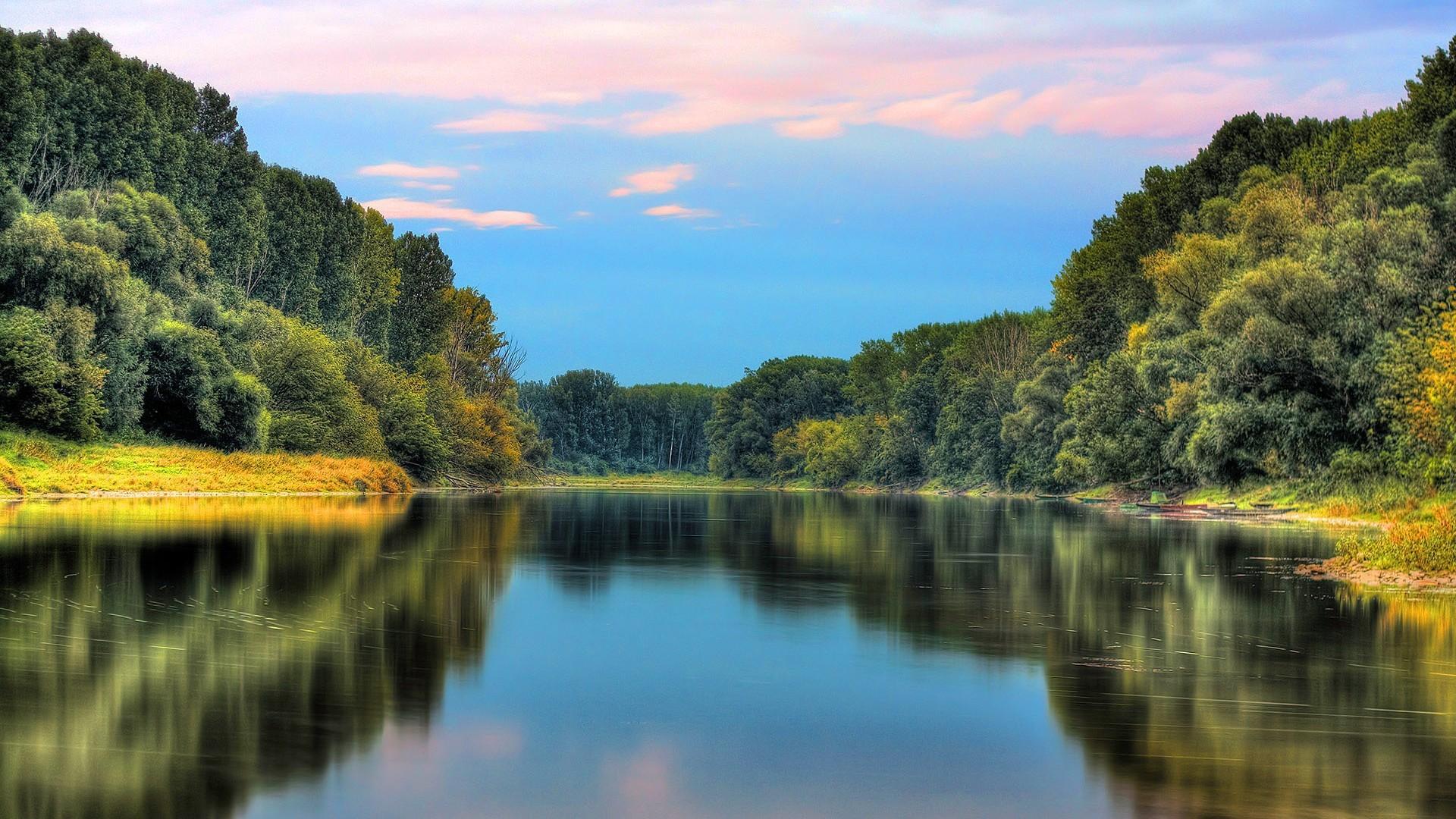 Fall Wallpaper For Tablet Beautiful Lake Scene Nature